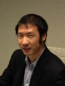 Tyler Lu, founder of Granata Decision Systems Inc. and PhD Candidate