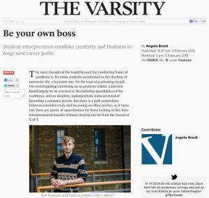 The Varsity's coverage of the UTEST program