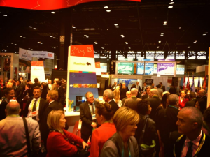 BIO2013 showroom floor in the Canada pavilion was a busy spot throughout the conference.