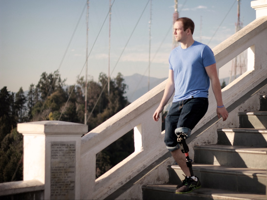 The All-Terrain Knee (AT-KNEE) is a safe, high-functioning, durable, affordable prosthetic knee joint developed at Toronto's Holland Bloorview Kids Rehabilitation Hospital.