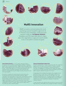 International Innovation feature on MI