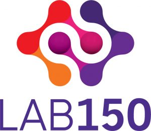LAB150 stacked logo
